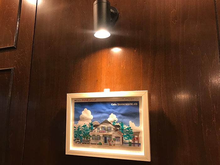 壁に飾られている絵