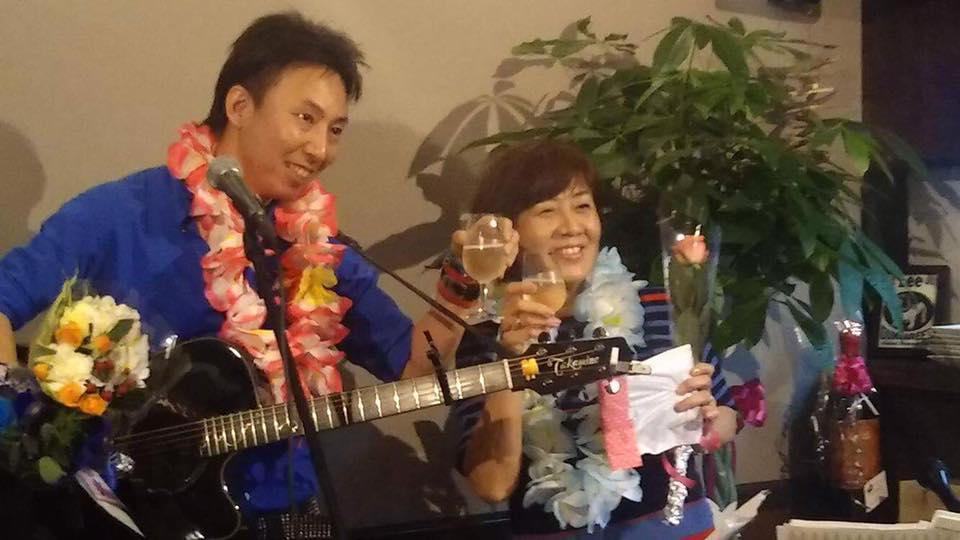 Okaji with Junko